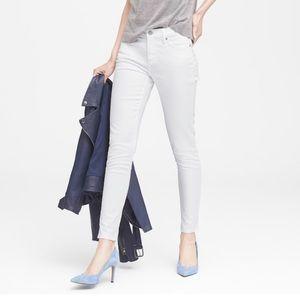 Banana Republic Skinny Stain-Resistant Ankle Jeans
